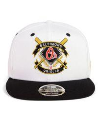 KTZ - Black Baltimore Orioles Crest 9fifty Snapback Cap for Men - Lyst