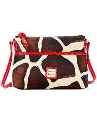 Dooney & Bourke - Red Serengeti Ginger Small Crossbody - Lyst