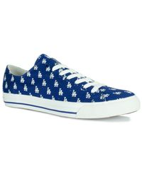 Row One | Blue Victory Sneakers | Lyst