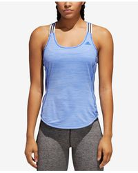 Adidas Blue Performer X-back Tank Top