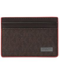 Michael Kors - Multicolor Men's Jet Set Card Case for Men - Lyst