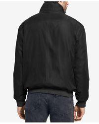 Weatherproof - Black Bomber Jacket for Men - Lyst