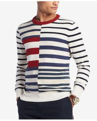 Tommy Hilfiger - Multicolor Shipley Striped Sweater, Created For Macy's for Men - Lyst