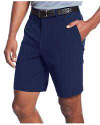 """Cutter & Buck - Blue 9"""" Drytec Bainbridge Flat Front Shorts for Men - Lyst"""