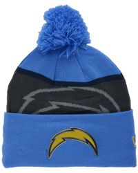 53bc6bcd1 Lyst - KTZ San Diego Chargers Gold Collection Knit Hat in Blue for Men