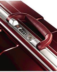 "Samsonite Purple Closeout! Cruisair Dlx 30"" Hardside Spinner Suitcase for men"
