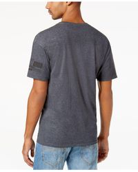 Sean John | Gray Men's Half Life Graphic-print T-shirt for Men | Lyst