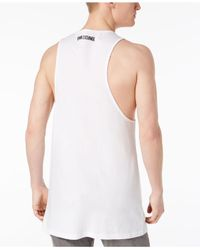 Armani Exchange White Logo-print Tnk for men
