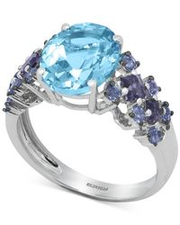 Effy Collection - Effy Multi-stone Ring (5-1/4 Ct. T.w.) In 14k White Gold - Lyst