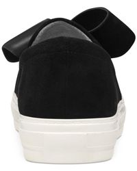 Nine West Black Odinella Slip-on Sneakers