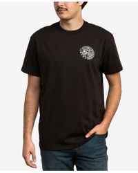 RVCA - Black Heartland Graphic T-shirt for Men - Lyst