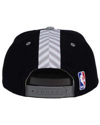Adidas - Black Brooklyn Nets 2016 Draft Snapback Cap for Men - Lyst