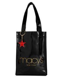 Macy's - Black New York Lunch Tote - Lyst