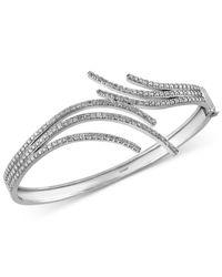 Effy Collection - Metallic Diamond Bangle Bracelet (2-1/4 Ct. T.w.) In 14k White Gold - Lyst