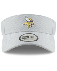 KTZ Gray Minnesota Vikings Training Visor