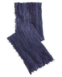 Polo Ralph Lauren - Blue Lightweight Scarf - Lyst