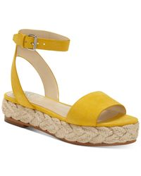 Vince Camuto Yellow Defina Sandals