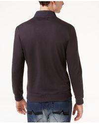 INC International Concepts - Multicolor Men's Embroidered Knit Jacket for Men - Lyst