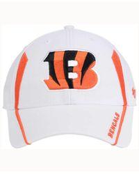 47 Brand Cincinnati Bengals White Arc Mvp Cap for men