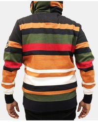 Heritage America - Multicolor Stripe Hoodie for Men - Lyst