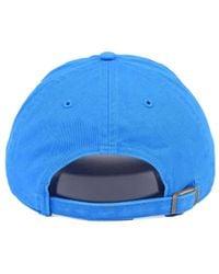 47 Brand - Blue Triple Rush Clean Up Cap for Men - Lyst