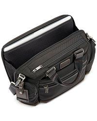 Tumi - Brown Alpha Bravo Brooks Slim Briefcase for Men - Lyst