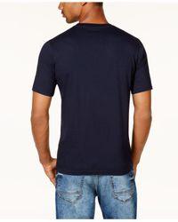 Sean John - Blue Men's Colorblocked T-shirt for Men - Lyst