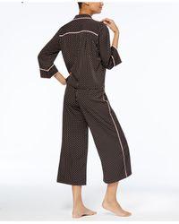 Kate Spade | Multicolor Mini-dot Top & Capri Pants Pajama Set | Lyst