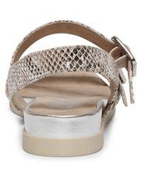 Anne Klein Metallic Sabian Flat Sandals