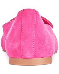 INC International Concepts Pink Women's Aleynia Pointed-toe Flats