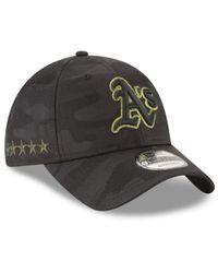 KTZ - Black Oakland Athletics Memorial Day 9twenty Cap for Men - Lyst