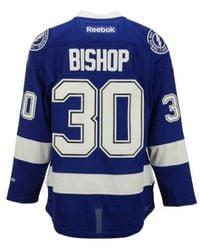 Reebok | Blue Men's Ben Bishop Tampa Bay Lightning Premier Jersey for Men | Lyst