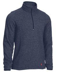 Eastern Mountain Sports - Blue Roundtrip 1/4-zip Pullover Fleece for Men - Lyst