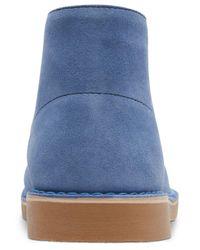 Clarks Blue Bushacre 2 Chukka Boots for men