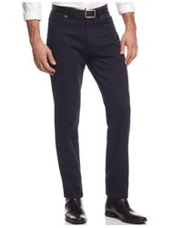 Vince Camuto Blue Slim-fit Pants for men