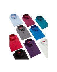 Alfani - Blue Spectrum Men's Slim-fit Stretch Dress Shirt for Men - Lyst