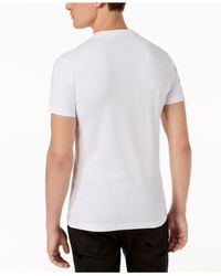 Versace White Graphic-print T-shirt for men