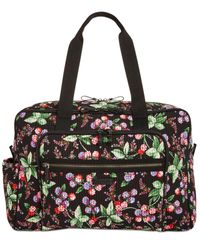 Vera Bradley - Multicolor Iconic Deluxe Extra-large Weekender Travel Bag - Lyst