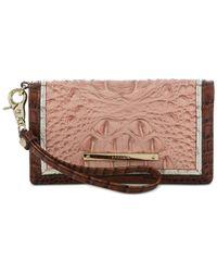 Brahmin Multicolor Debra Marquis Chambery Wallet Wristlet