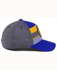 Adidas Blue Golden State Warriors Tri-color Flex Cap