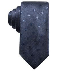 Alfani | Blue Men's Dot Slim Tie, Created For Macy's for Men | Lyst