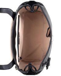Radley Black Woburn Abbey Large Foldover Backpack