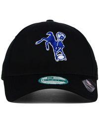 KTZ Black Indianapolis Colts League 9forty Cap for men