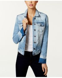 Kut From The Kloth - Blue Lily Denim Jacket - Lyst