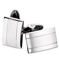 Macy's Multicolor Stainless Steel Dome Cuff Links for men