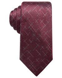 Alfani - Purple Men's Reed Dash Silk Tie, Created For Macy's for Men - Lyst