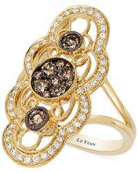 Le Vian Metallic Diamond Ring (7/8 Ct. T.w.) In 14k Gold