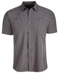 Hi-tec Gray Bolton Stripe Shirt for men