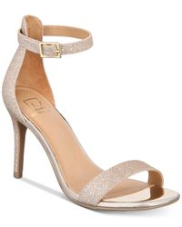 Material Girl Metallic Blaire Two-piece Dress Sandals