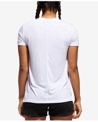 Adidas White Yola Short-sleeve T-shirt
